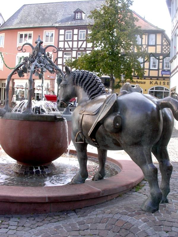 Roßmarktbrunnen Alzey