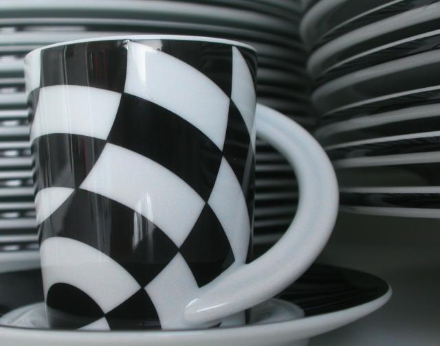 Schwarzweiß -- Espresso