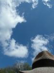 Hut vor Himmel