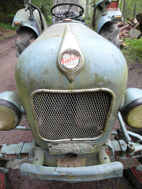 Eicher-Traktor, Oldtimer