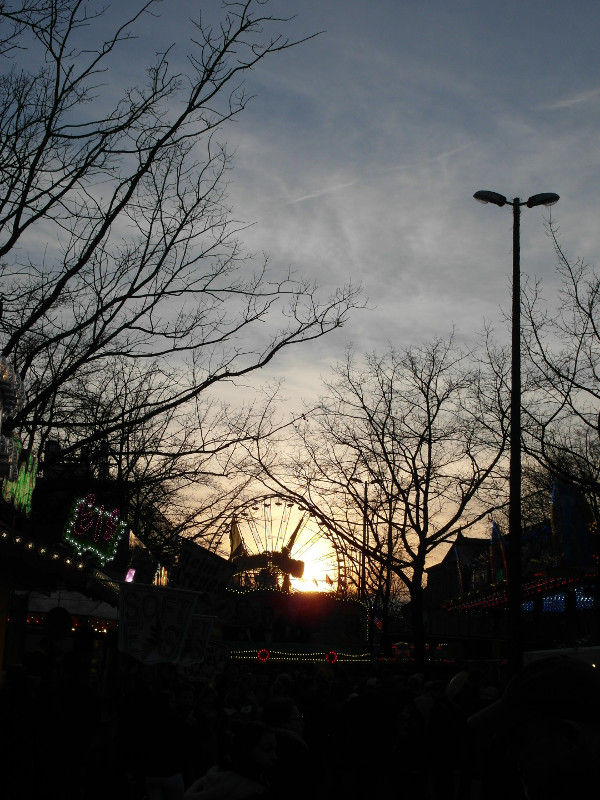 Sonnenuntergang ist für alle da.
