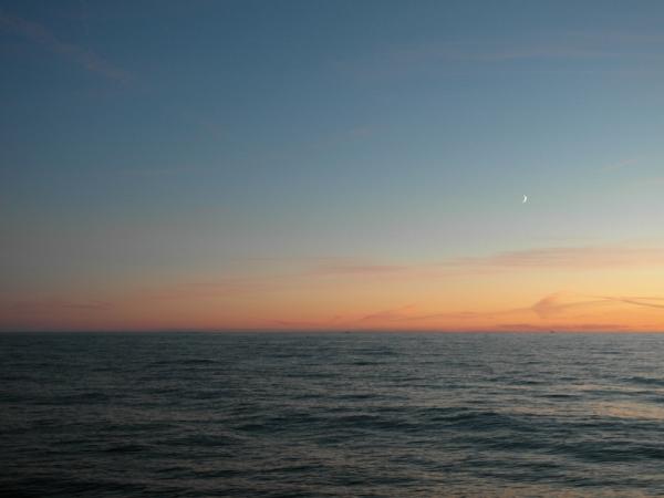 Himmel so veränderlich.