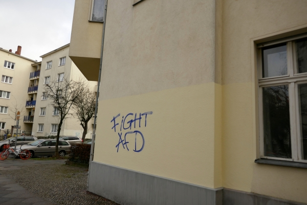 Graffiti: Fight AfD